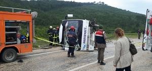 Bursa'da trafik kazası: 3 ölü, 9 yaralı