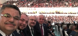 Başkan Yağcı, AK Partinin 3. Olağanüstü Kongresine katıldı