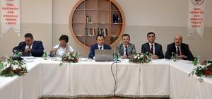 Gaziantep'te mesleki ve teknik eğitimin durumu masaya yatırıldı