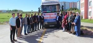 Elazığ'dan Suriye'ye 1 tır yardım