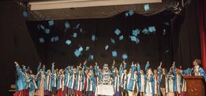 Sadullah Gencer'de mezuniyet coşkusu