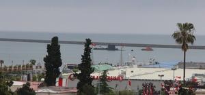 Yıldıray Denizaltısı Samsun'dan ayrıldı