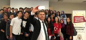 Başkan Kuzu gençlerle bir araya geldi