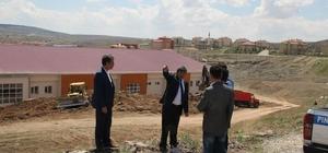 Başkan Ataş, MYO ve Pınarbaşı Spor Salonu'ndaki Çalışmaları Değerlendirdi