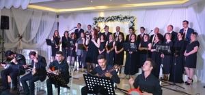 Ünye'de Türk halk müziği konseri