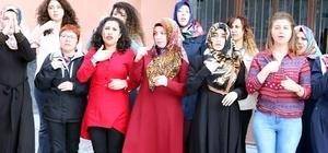 Yozgat'ta açılan kursta vatandaşlar işaret dili öğreniyor