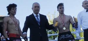 Emirdağ'da 'Muay Thai Afyonkarahisar İl Turnuvası' düzenlendi