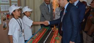 Kabadüz'de TÜBİTAK 4006 Bilim Fuarı açıldı