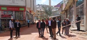 Bayburt Belediyesi yol ve sosyal donatı çalışmalarına devam ediyor