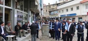 Bitlis Belediyesinden kaldırım işgaline son