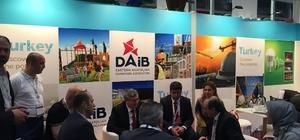 DAİB, URGE inşaat kümesi firmaları Katar Yapı ve İnşaat Fuarına katıldı