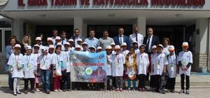 Elazığ'da 'Lider Çocuk Tarım Kampı' projesi