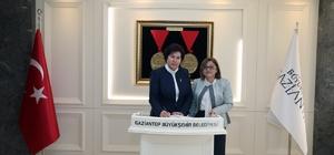 Danıştay Başkanı Güngör'den Fatma Şahin'e ziyaret