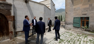 Seyyid Osman Hulusi Efendi Vakfı'ndan Talas Belediyesi'ne Ziyaret