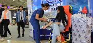 Halı fuarının sağlık sponsoru NCR