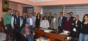 Başkan Ataç'tan Tüm Bel-Sen'e ziyaret