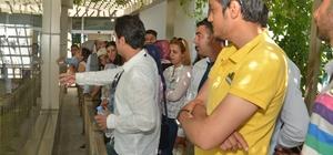 Turistik alanlarda çalışan personele eğitim
