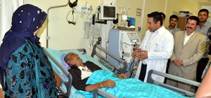 Akçakale Devlet Hastanesinde diyaliz ünitesi açıldı