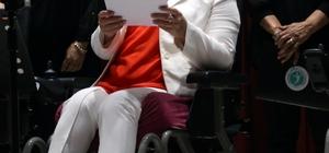 Tekirdağ'da engelliler korosu konser verdi