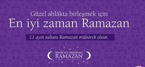 Ümraniye, on bir ayın sultanı Ramazan'a hazır