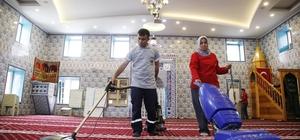 Döşemealtı'nda Camiler Ramazana hazırlanıyor