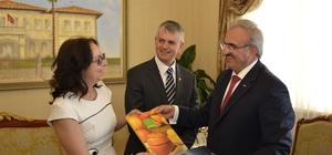 Kanada'nın Ankara Büyükelçisi Cooter, Antalya'da