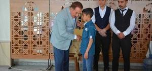 Belediye başkanı Akdemir'den gençlere övgü
