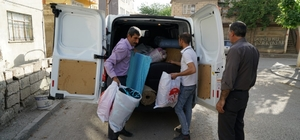 Adıyaman Belediyesinden eşi tarafından terk edilen kadına yardım
