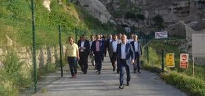 Hasankeyf'te 'Kardeşlik projesi çalıştayı' hazırlıkları
