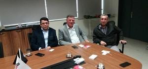 Başkan Duymuş fabrika müdürleriyle bir araya geldi