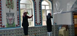 Gediz belediyesi camilerde genel temizlik çalışması başlattı
