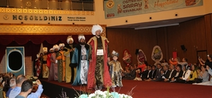 Osmanlı Saray Esvapları defile ve sergisi