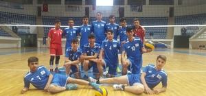 Hakkarili voleybolcular Türkiye finallerinde