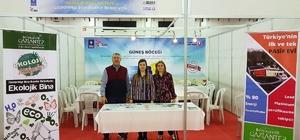 Bursa'daki şenlikte, Gaziantep Ekolojik Binasına yoğun ilgi