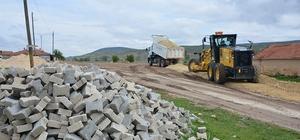 Seyitgazi Belediyesi Karaören'de çalışmalarını sürdürüyor