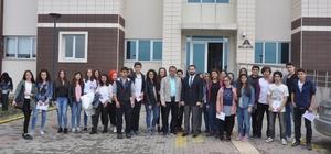 Lisesi öğrencilerinden Düzce Üniversitesine ziyaret