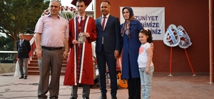Biga Atatürk Anadolu Lisesinde mezuniyet töreni