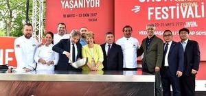 Türk ve dünya mutfağı lezzetleri Taksim Meydanı'nda görücüye çıktı