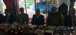 Mahkumlar, devlet ve iş adamlarıyla yemekte buluştu