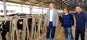 Başkan Özkan'dan Dünya Süt Haftası'nda anlamlı mesaj