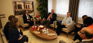 Almanya'nın Ankara Büyükelçisi Erdmann Adana'da