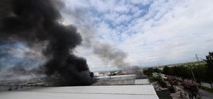 GÜNCELLEME - Uşak'ta fabrika yangını