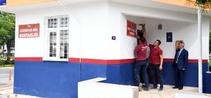 Mersin'de muhtarlık binaları yenileniyor