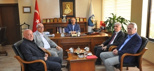 UKOME Daire Başkanı Tektemur, Başkan Dinçer'i ziyaret etti