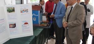 Elazığ'da lise öğrencilerinden bilim sergisi