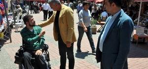 Engelli vatandaşlardan yıl sonu kermesi