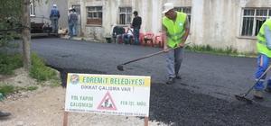 Edremit'te 14 milyon liralık asfaltlama çalışması başlatıldı