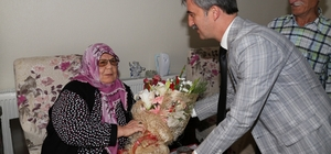 Başkan Şirin'den özel ziyaret