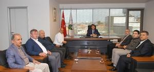 Bursa Suriye Toplum Derneği'nden Dündar'a ziyaret
