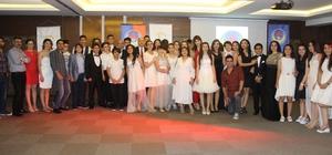 TED'li öğrenciler mezuniyet sevincini Liv Suit Otel'de kutladı